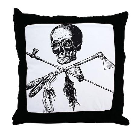 Michigan Native Throw Pillow