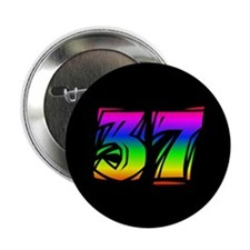 """37th Birthday 2.25"""" Button (10 pack)"""