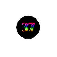 37th Birthday Mini Button (100 pack)