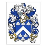 Hatcher Coat of Arms Small Poster