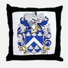 Hatcher Coat of Arms Throw Pillow