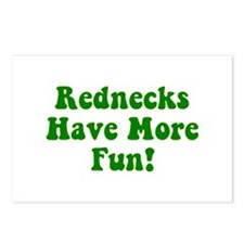 Rednecks Have More Fun! Postcards (Package of 8)