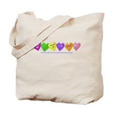 Text Candy Tote Bag