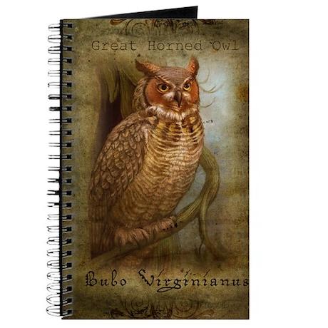 Great Horned Owl Journal