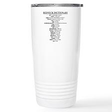 Redneck Dictionary Travel Mug