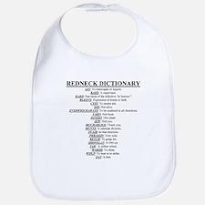 Redneck Dictionary Bib
