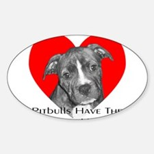 Biggest Hearts Oval Decal
