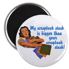 Scrapbook Stash Magnet