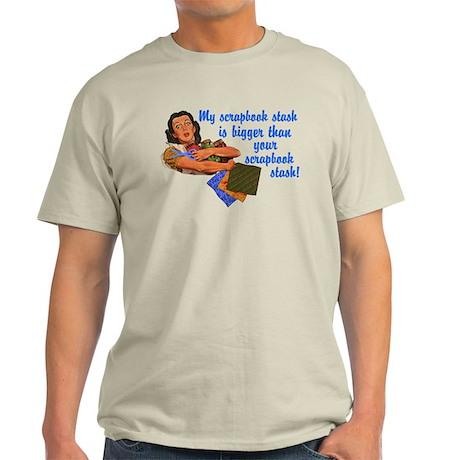 Scrapbook Stash Light T-Shirt