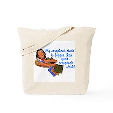 Scrapbook Stash Tote Bag