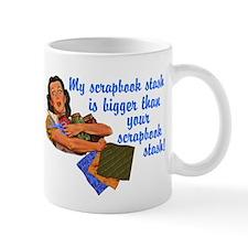 Scrapbook Stash Mug