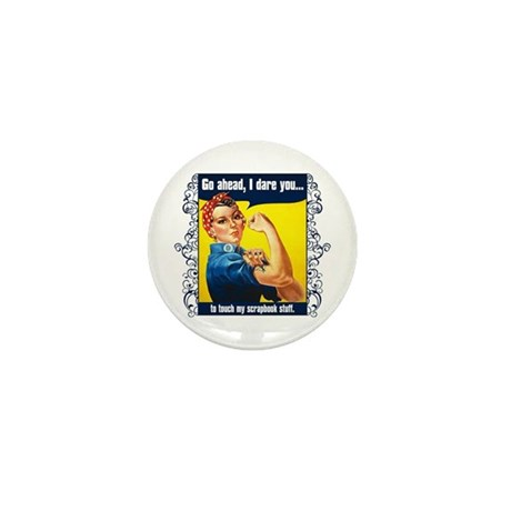 Touch My Stuff Mini Button (10 pack)