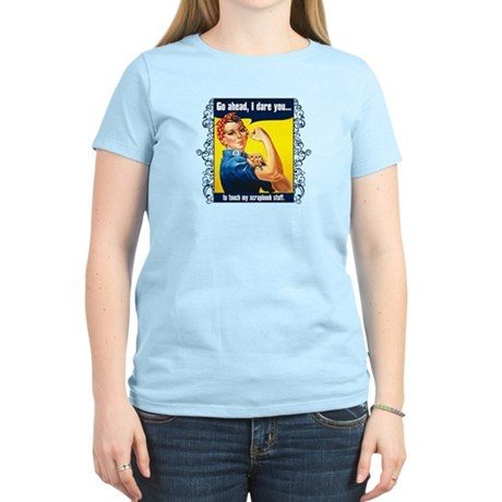 Touch My Stuff Women's Light T-Shirt
