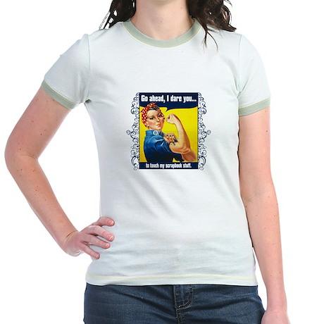 Touch My Stuff Jr. Ringer T-Shirt
