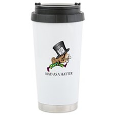 Mad Hatter Travel Coffee Mug