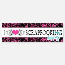 Scrapbook Shopping Bumper Bumper Bumper Sticker