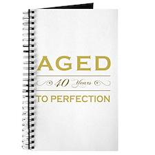 Stylish 40th Birthday Journal