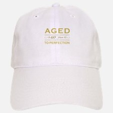 Stylish 60th Birthday Baseball Baseball Cap