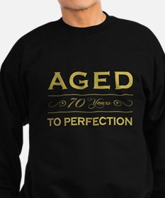 Stylish 70th Birthday Sweatshirt (dark)