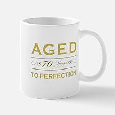 Stylish 70th Birthday Mug