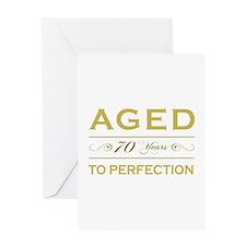 Stylish 70th Birthday Greeting Card