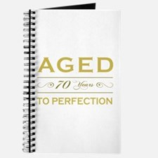 Stylish 70th Birthday Journal