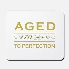 Stylish 70th Birthday Mousepad