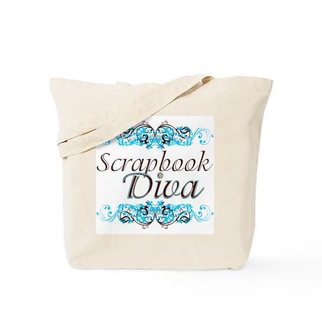 Scrapbook Diva (2) Tote Bag