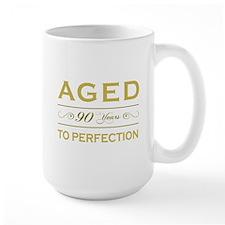 Stylish 90th Birthday Mug