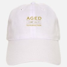 Stylish 90th Birthday Baseball Baseball Cap