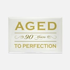 Stylish 90th Birthday Rectangle Magnet