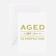 Stylish 90th Birthday Greeting Card