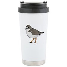 Piping Plover Stainless Steel Travel Mug