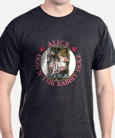 ALICE DOWN THE RABBIT HOLE T-Shirt
