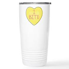 I BITE Heart - Travel Mug