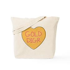 GOLD DIGR Heart - Tote Bag