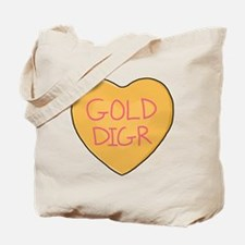 GOLD DIGR Heart - Tote Bag