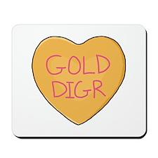 GOLD DIGR Heart - Mousepad