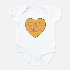 GOLD DIGR Heart - Infant Bodysuit