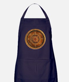 Compass Rose in Brown Apron (dark)