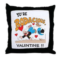 Bodacious Valentine Throw Pillow