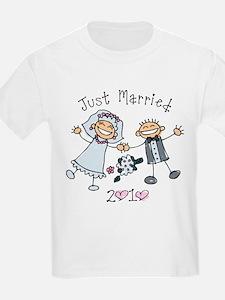 Stick Just Married 2010 T-Shirt