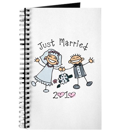 Stick Just Married 2010 Journal