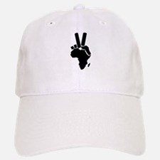 Africa Peace Sign Baseball Baseball Cap