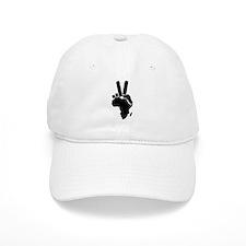Africa Peace Sign Baseball Cap