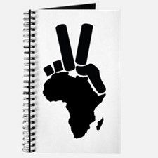 Africa Peace Sign Journal