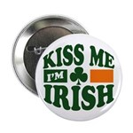 "Kiss Me I'm Irish 2.25"" Button"