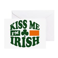 Kiss Me I'm Irish Greeting Card