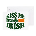 Kiss Me I'm Irish Greeting Cards (Pk of 10)