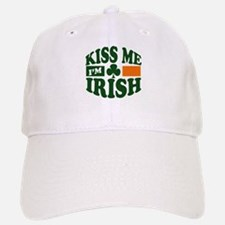 Kiss Me I'm Irish Baseball Baseball Cap